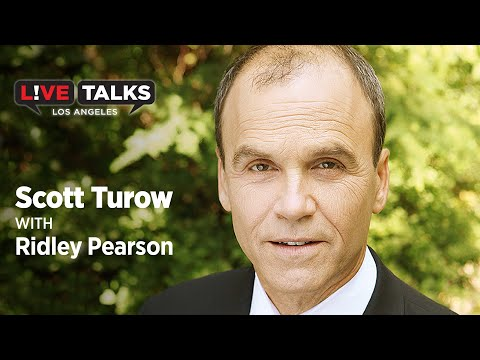Scott Turow in conversation with Ridley Pearson at Live Talks Los Angeles