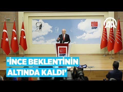 Kılıçdaroğlu'ndan seçim açıklaması: İnce beklentinin altında kaldı