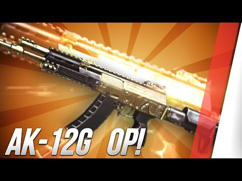 Advanced Warfare: Ak-12G The Most Powerful Multiplayer Weapon!