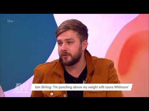 Iain Stirling Feels He's Punching Above His Weight With Laura Whitmore | Loose Women
