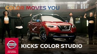 2018 Nissan KICKS Color Studio Dance Off