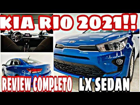 kia rio 2021 | kia rio lx sedan | review completo en español | review en español | autopedia malu