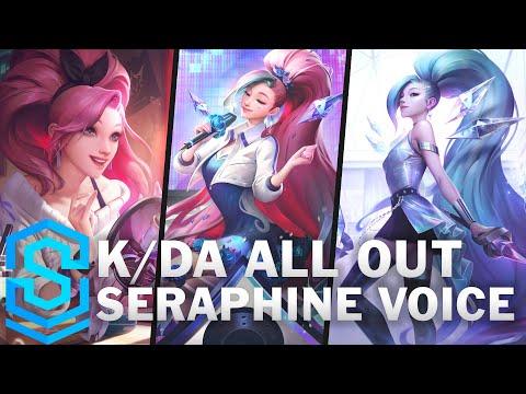 Voice - K/DA ALL OUT Seraphine [SUBBED] - English