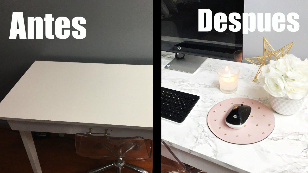 Diy escritorio de marmol diy marble table youtube for Como pulir una mesa de marmol
