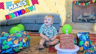 Max's 1st Birthday! The Beach House!