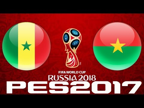 2018 WORLD CUP QUALIFIERS - SENEGAL v BURKINA FASO - PES 2017