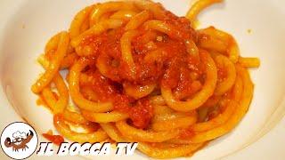 280 - Pici all'aglione...primo piatto da campione (primo piatto vegetariano facile veloce e gustoso)