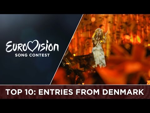 Top 10: Entries from Denmark