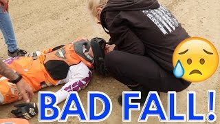 DIRTBIKE CRASH!