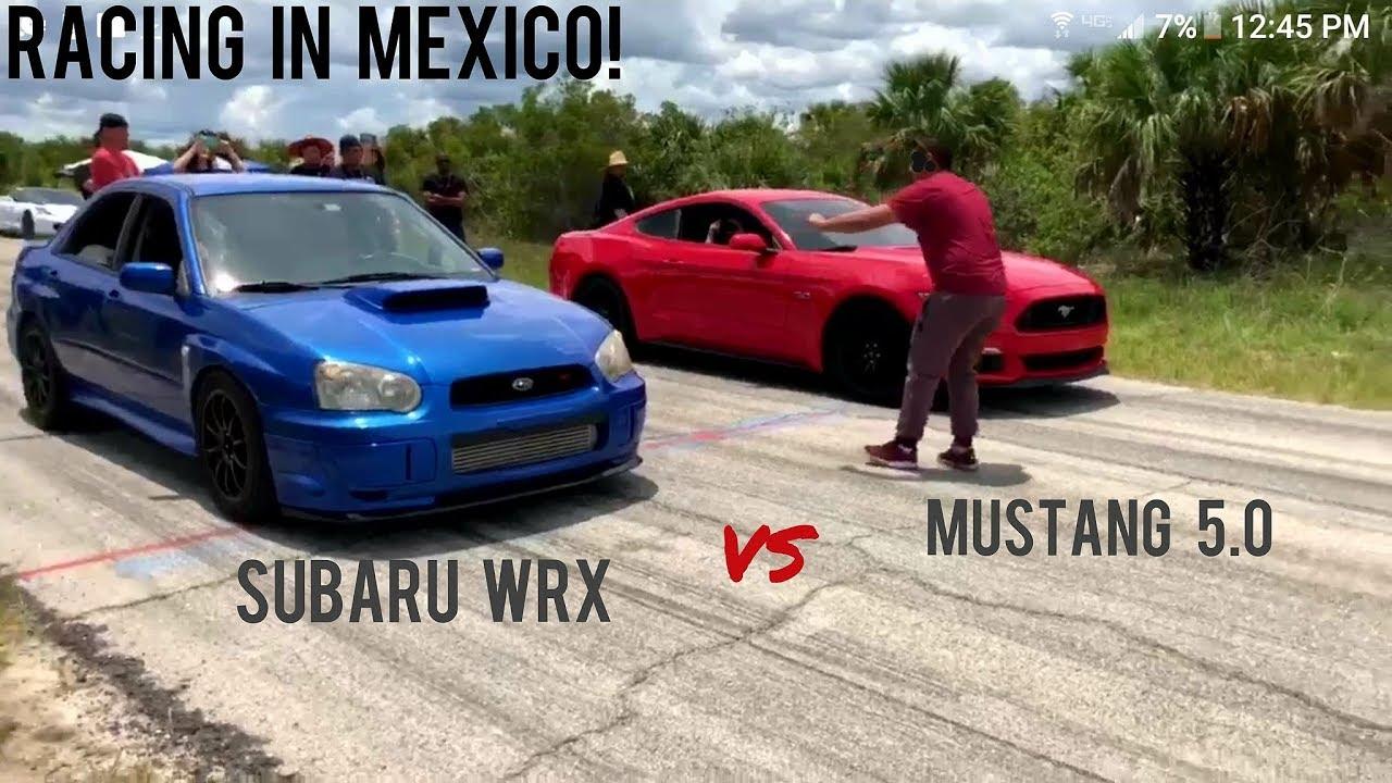 Subaru Wrx Vs Mustang 5 0 Vs G8 Gxp Nismo Juke Vs Mustang 3 7 600 Vs Fox