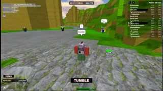 Screwing around on ROBLOX-Sk8erscamp-Tumble