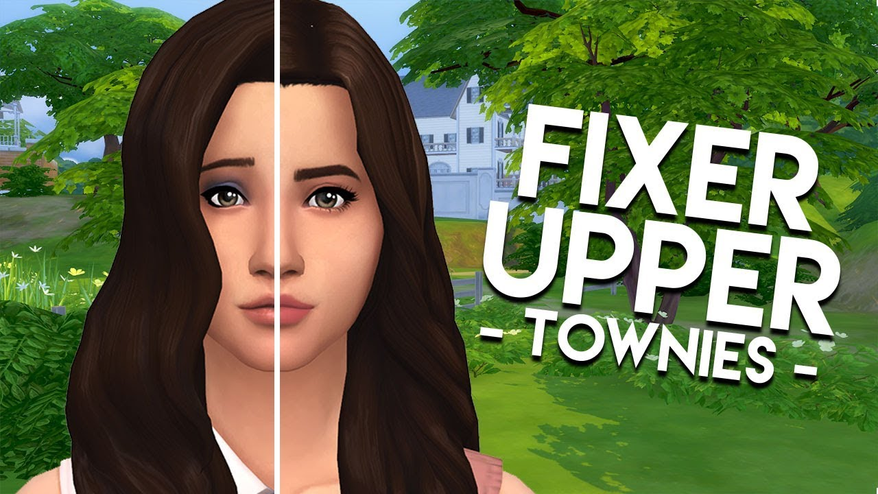 FIXING THE VILLAREALS // The Sims 4: Townie Makeovers