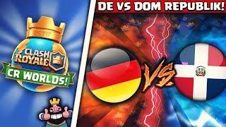 deutschland vs dom rep   gegner kennen alle decks der deutschen auswendig   cr worlds