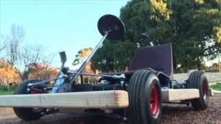 Electric Microkart test drive