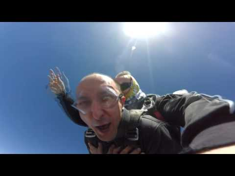 Levi's skydive from 14000ft