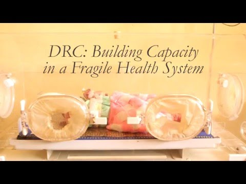 DRC: Building Capacity in a Fragile Health System