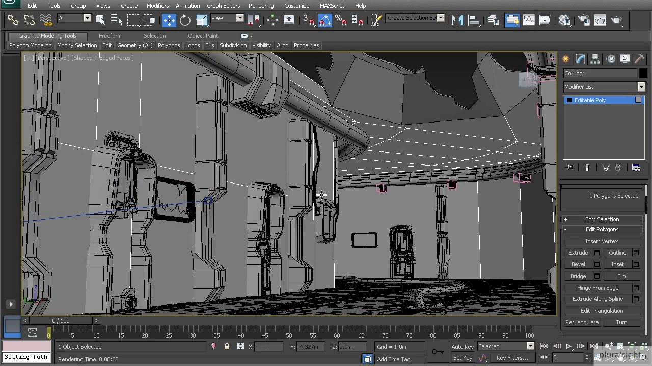 Environment Modeling in 3ds Max Set Dressing Concepts