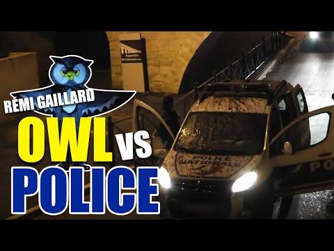 HIBOU Vs POLICE (REMI GAILLARD)