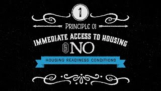 Housing First: Principles Into Practice #1