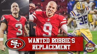 Live! 49ers Kicker Robbie Gould Requests Trade