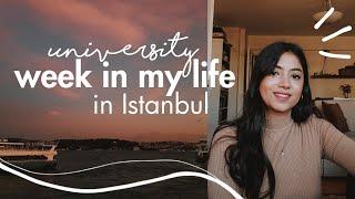 University Week In My Life In Istanbul; International Student In Turkey | Aroof
