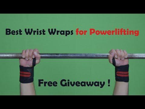 Best wrist wraps powerlifting Giveaway! WinWristWraps.info