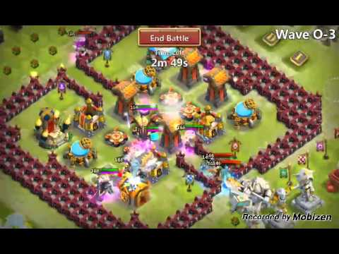 Castle Clash Hbm Challenge 2 II Wave O With F2p Heroes