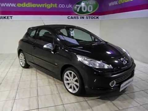peugeot 207 exterior interior tour of a 57 plate 207 1 6 thp 175 bhp gti turbo 3 door youtube. Black Bedroom Furniture Sets. Home Design Ideas