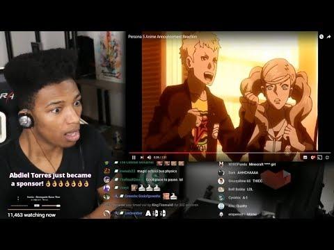 Etika Reacts To The Terribad Persona 5 Anime Adaptation [Etika Stream Highlight]