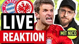 Live Reaktion! FC Bayern München gegen Eintracht Frankfurt mit Nico von OneFootball & Etienne Gardé