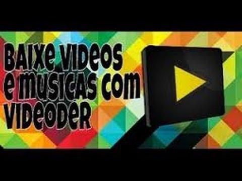 como-baixar-vídeos-e-músicas-com-videoder.