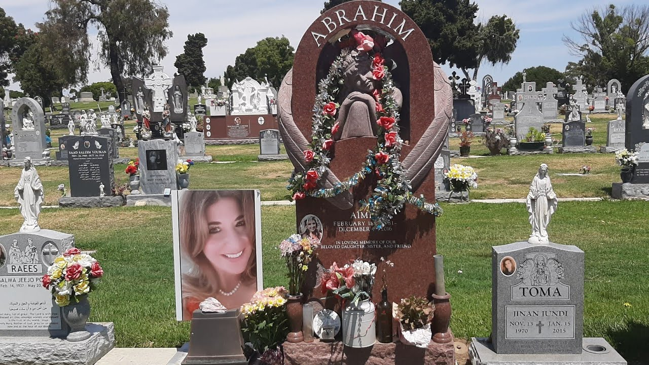 Faces in death--Hill Cross Cemetery--San Diego,California