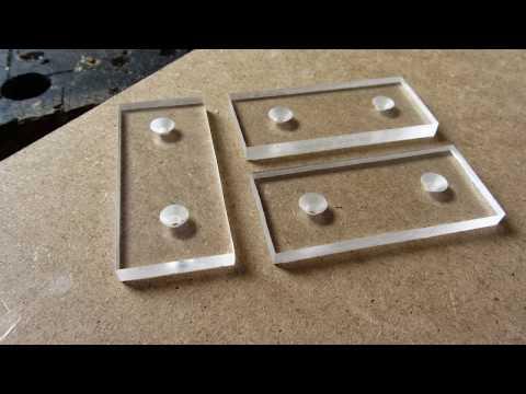 how to make led light up plexiglass acrylic glass youtube. Black Bedroom Furniture Sets. Home Design Ideas