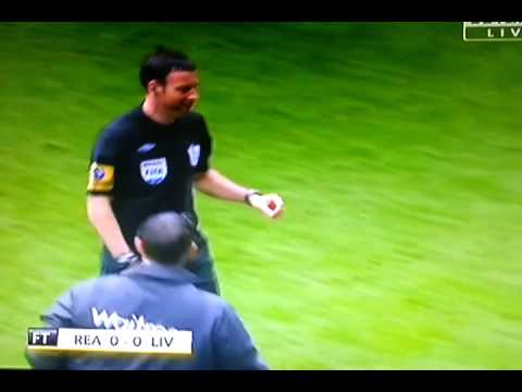Clattenburg forgets his cards