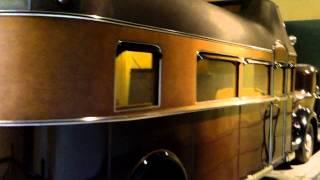 1932 Curtiss RV 5th wheel car camp travel trailer,,land yacht'.aerocar