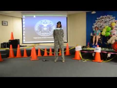 Eglin Security Forces Skit Part 1