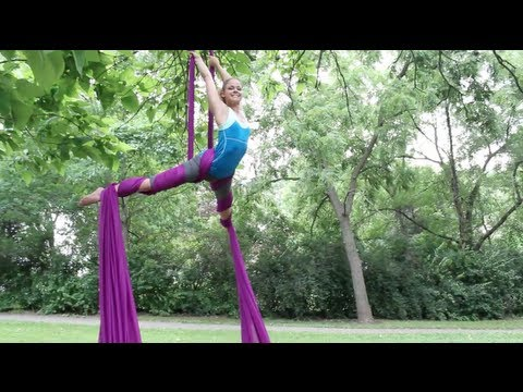 Aerial Silks After 8 Months of Classes