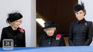 The Royals Attend Remembrance Day Service In London