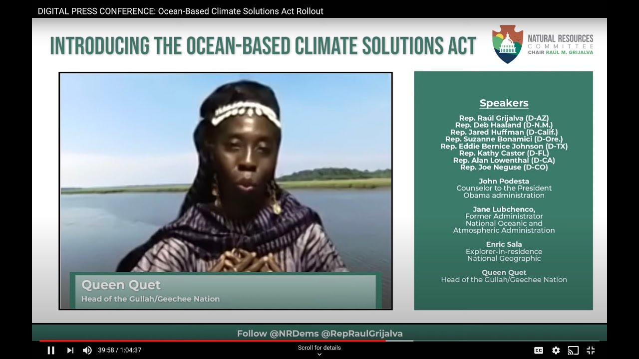 Ocean-Based Climate Solutions Act