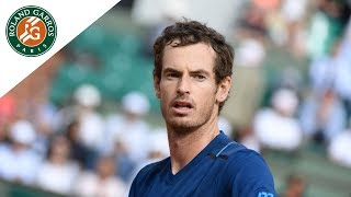 Andy Murray v Juan Martin del Potro Highlights - Men's Round 3 2017 | Roland-Garros