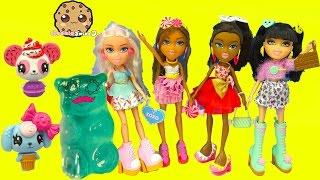 4 Bratz Sweet Style Dolls Toy Unboxing Video - Cookie swirl C Videos