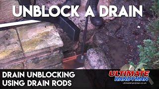 Drain unblocking | Drain rods