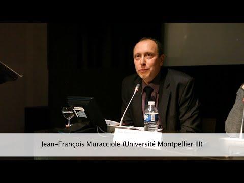 Jean-François Muracciole (Colloque Témoins & Témoignages)