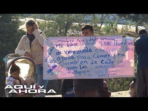 Así es la crisis de la llegada de venezolanos a Ecuador