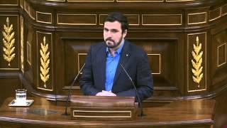 Alberto Garzón (Izquierda Unida) - Debate en Congreso: Europa, refugiados, Turquía