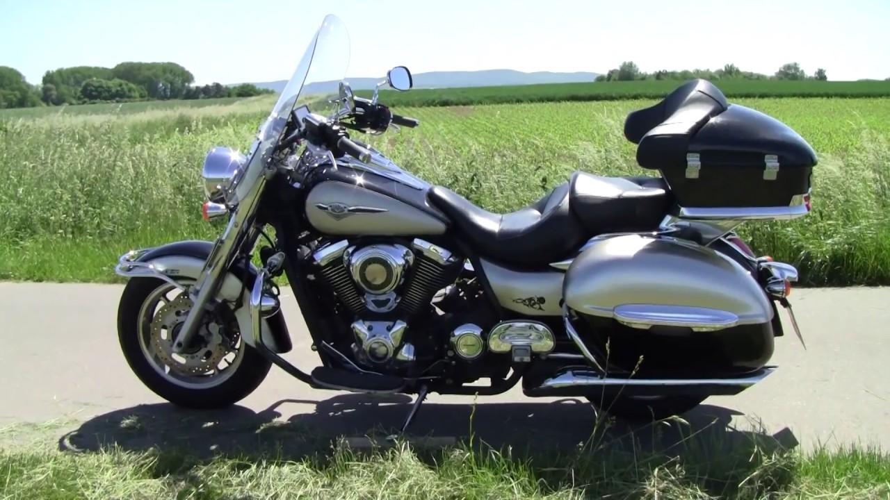 meine Kawasaki VN 1700 Classic Tourer EZ 2010 - YouTube