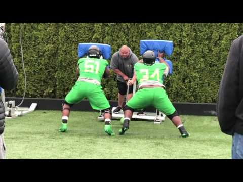 Sights and sounds from the Oregon Ducks