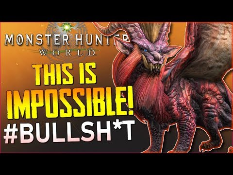 """Monster Hunter World (RAGE) - """"Tempered Teostra"""" (Solo)...WTF? This is Impossible!!! - #MHW 