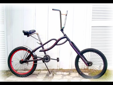 Pretzelogic 20 Bmx Chopper Mod Bicycle Youtube