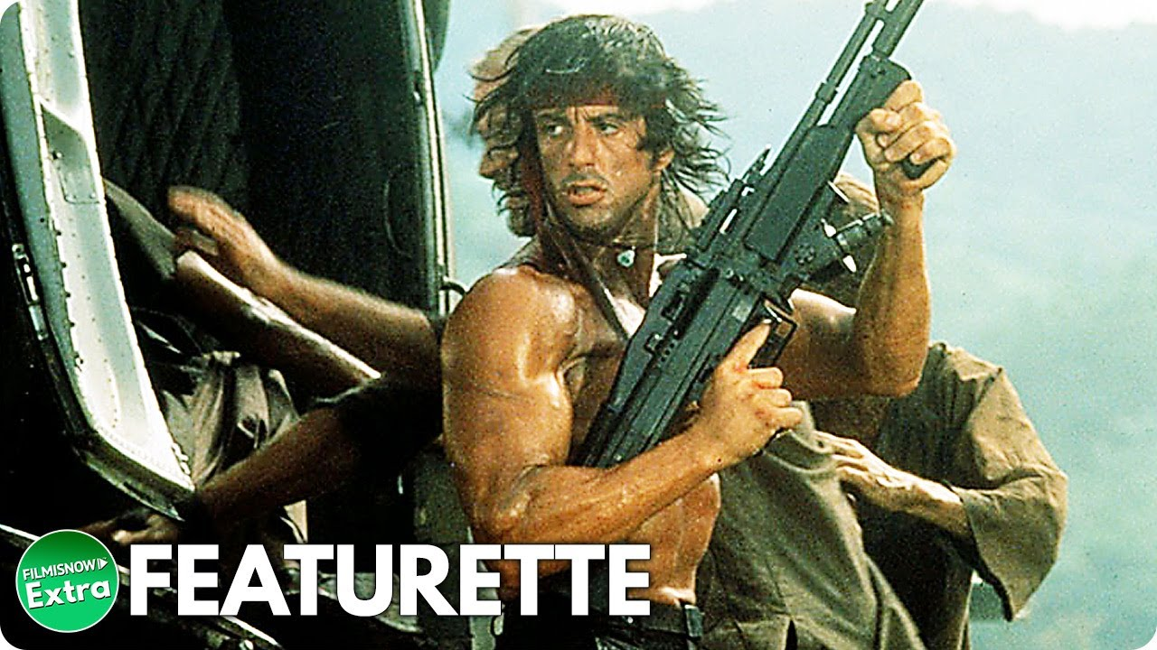 Rambo: First Blood Part II (1985) | Behind The Scenes Featurette